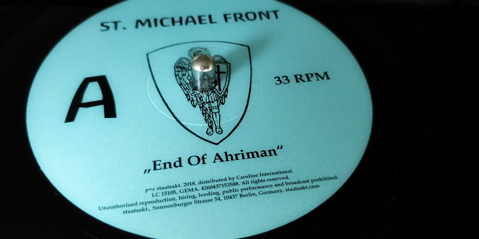 St. Michael Front – End Of Ahriman | Vinylbesprechung im Atomlabor ...