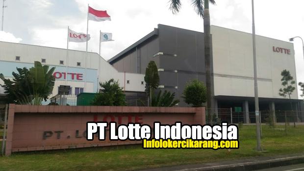 PT. Lotte Indonesia Kawasan MM2100