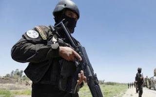 القوات المسلحة العراقية تقتل ارهابي  في داعش  سعودي الجنسية  في  الموصل