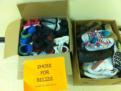 Students Donate Shoes to Help Those in Need