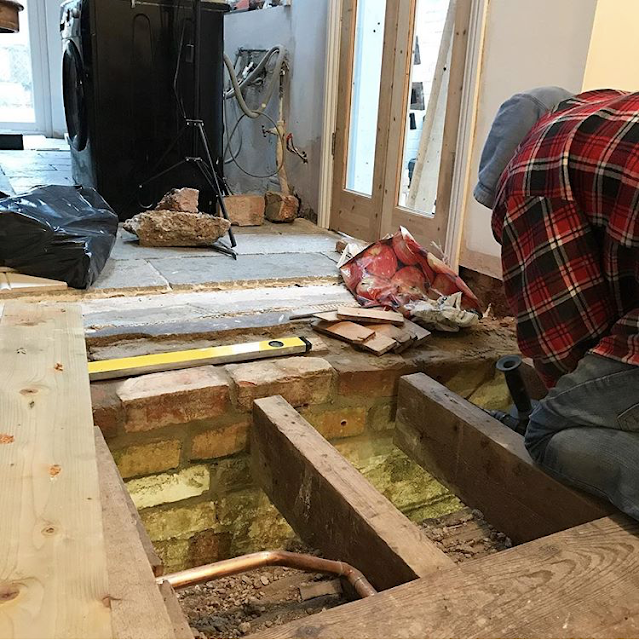 Using Resin to Support Floor Joists