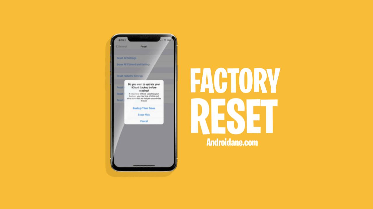 Cara Melakukan Reset Data atau Kembali ke Pengaturan Pabrik pada Smartphone