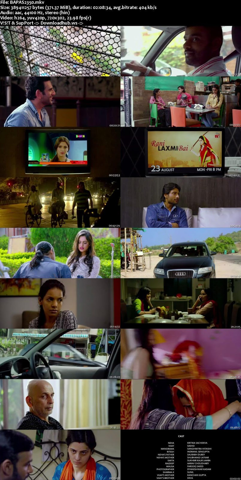 B A Pass 2 2017 Hindi 480p HDRip ESubs
