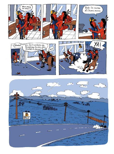 American Dream de Bazil aux editions Bang. ediciones page 9