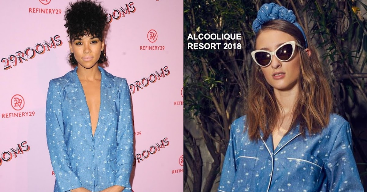 Alexandra Shipp In Alcoolique At The Refinery29 29rooms