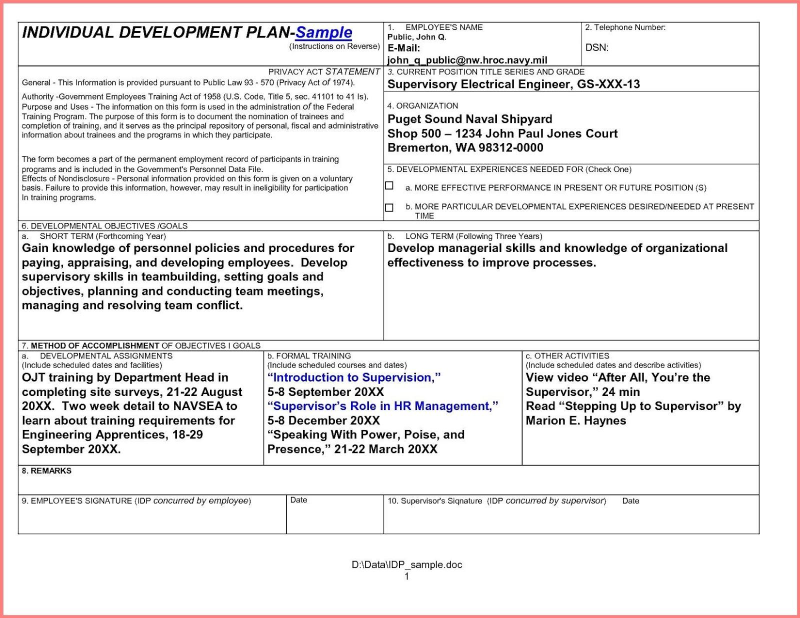 development plan examples - Khafre