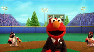 Elmo the Musical President the Musical, Elmo dreams himself President of the United States, living in the Red House, Sesame Street Episode 4406 Help O Bots, Help-O-Bots season 44
