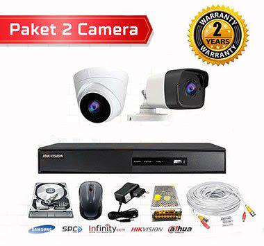 Paket cctv 2kamera