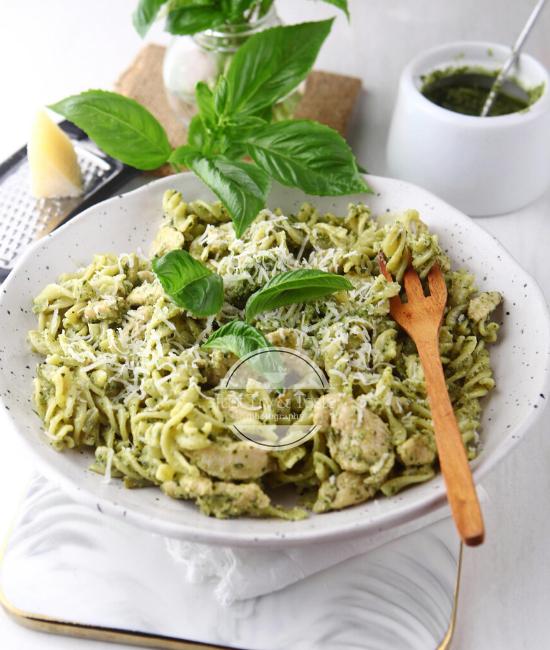 Resep Chicken Pesto Pasta JTT