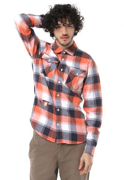 West Coast Camisa West Coast Fashion Xadrez