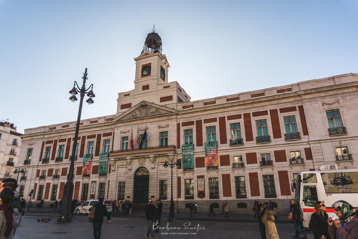 Plaza de la Puerta del Sol - Madrid, Spain