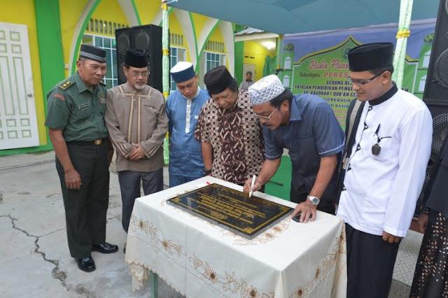 Peresmian Ar-Raudah (QCL), Nurdin : Generasi Qurani Harus Tumbuh di Kepri