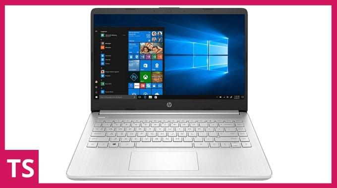 HP 14s DR1009TU laptop.