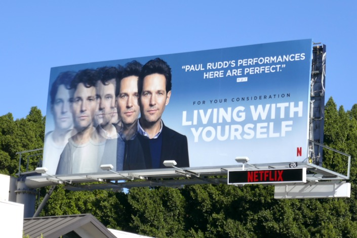 Living With Yourself season 1 consideration billboard