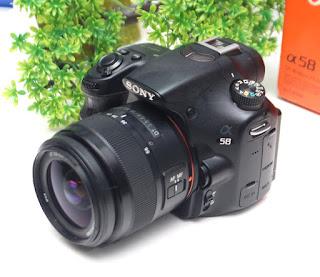 Jual Kamera DSLR Sony A58 Bekas