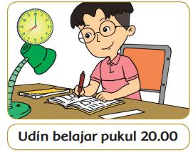 Udin belajar pukul 20.00 www.simplenews.me