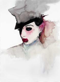 Dita, pintura de Marilyn Manson.