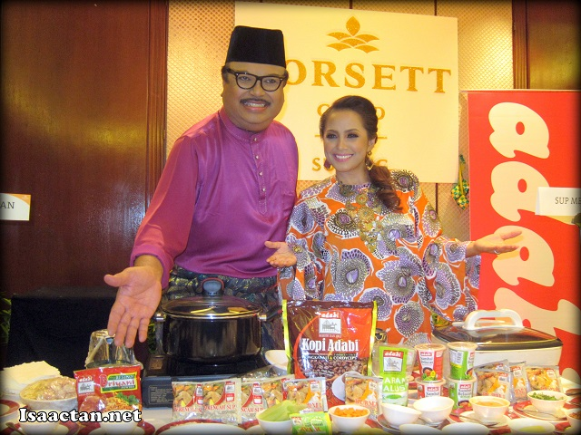 Ramadhan with Jaafar Onn and Haiza @ the Ramadhan Buffet Preview Dorsett Grand Subang