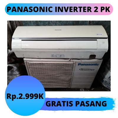 Jual AC Panasonic Inverter 2 PK Gratis Pemasangan