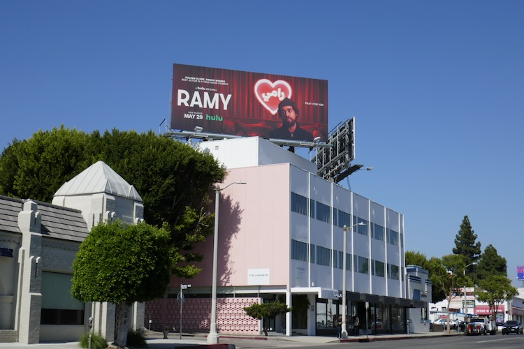 Ramy season 2 Hulu billboard