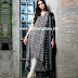 Gul Ahmed Monochrome Love- Black And White Collection 2015-16/ Gul Ahmed White & Black Fall-Winter Dresses 2015-16