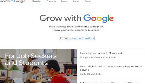 Google has much to offer that it wants to teach others. The biggest search engine of the world offers several free online courses for the interested people. Google accomplish this task with its (https://grow.google) project.  The Google targets students and fresh graduates for these free online courses.