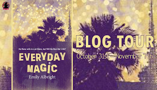 Blog Tour Dates for Everyday Magic by Emily Albright