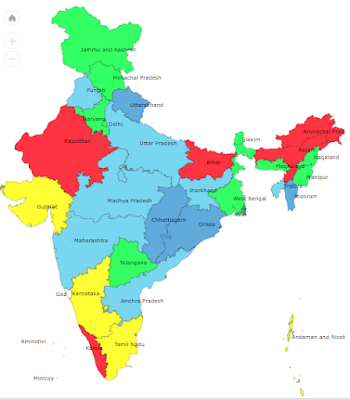 IMD State-wise Rainfall Stats