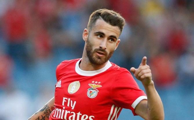 Rafa saiu do banco para marcar para o Benfica