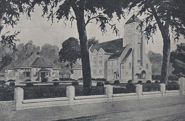 Gereja Zebaoth tahun 1920