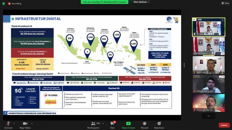 Jadi Kampus Digital, Menkominfo: STMM Yogyakarta Siapkan SDM Bertalenta Digital