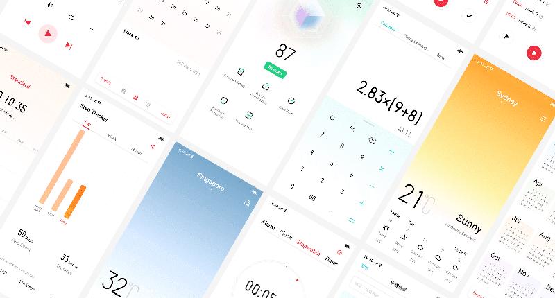 ColorOS 6 interface design