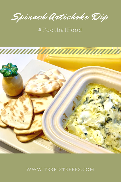 Hot and delicious spinach artichoke dip