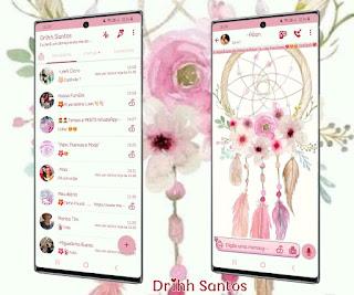 Sonhos Flowers Theme For YOWhatsApp & Fouad WhatsApp By Driih Santos