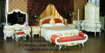 Indonesia Furniture Exporter,Classic Bedroom Furniture,French Provincial Furniture Indonesia code A163