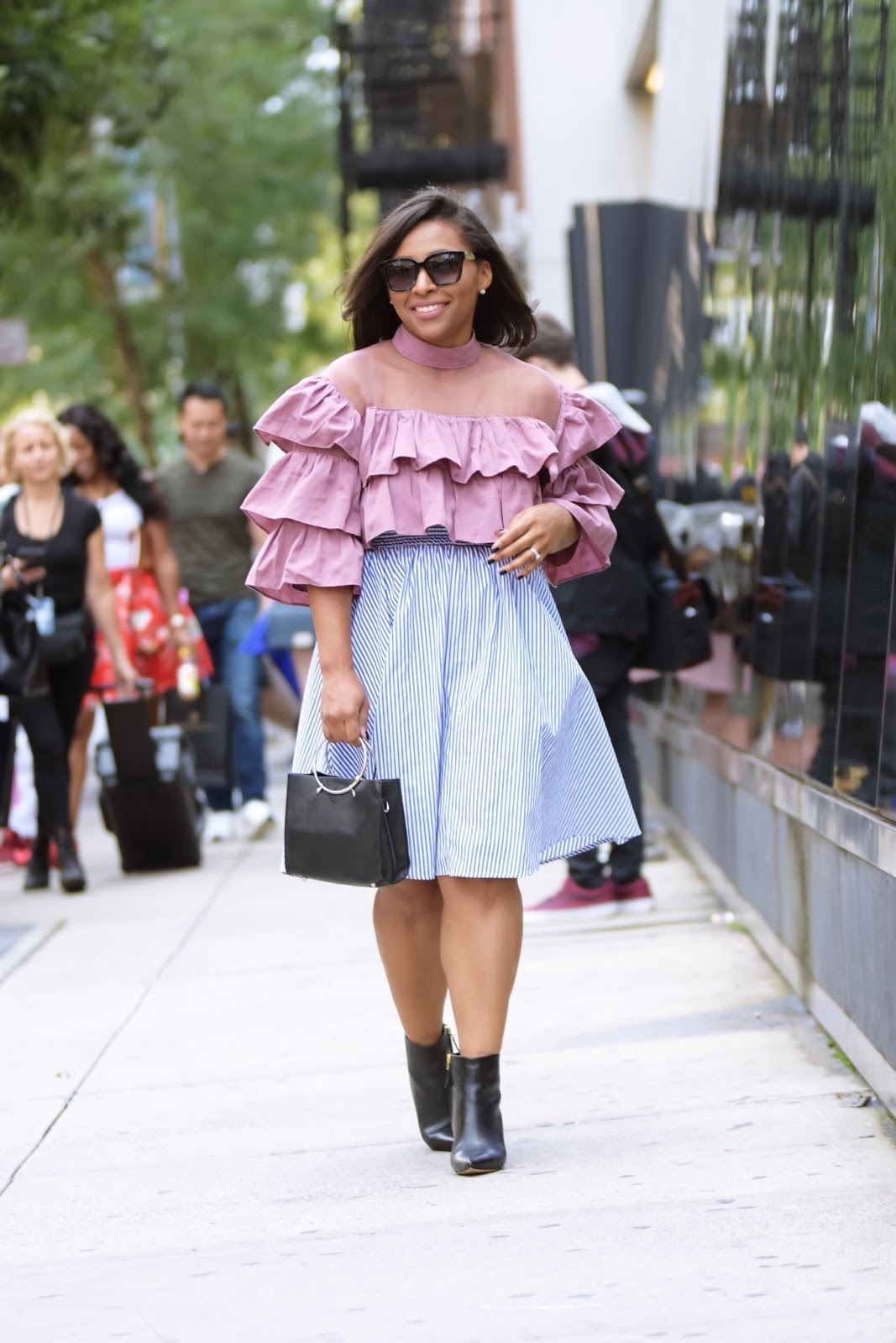 NYFW, fashion week, streetstyle, nyfwstreetstyle, bloggers, new york city, Indonesia diversity