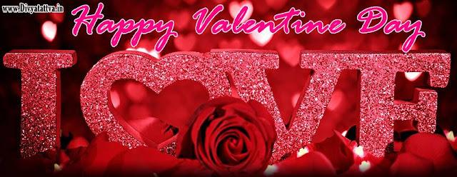 valentine love fb cover, valentine loving pictures, valentine day romatnic flowers facebook covers
