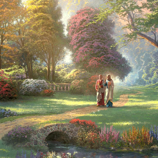 Jesus Christ - Heavenly Walk Wallpaper Engine