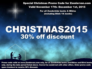 zondervan 2015 holiday discount code banner