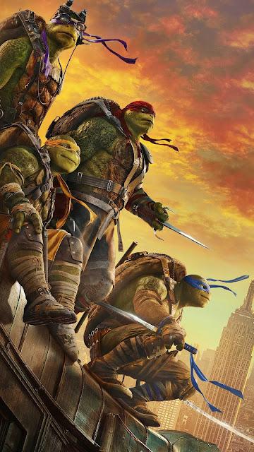 android ninja turtles wallpaper