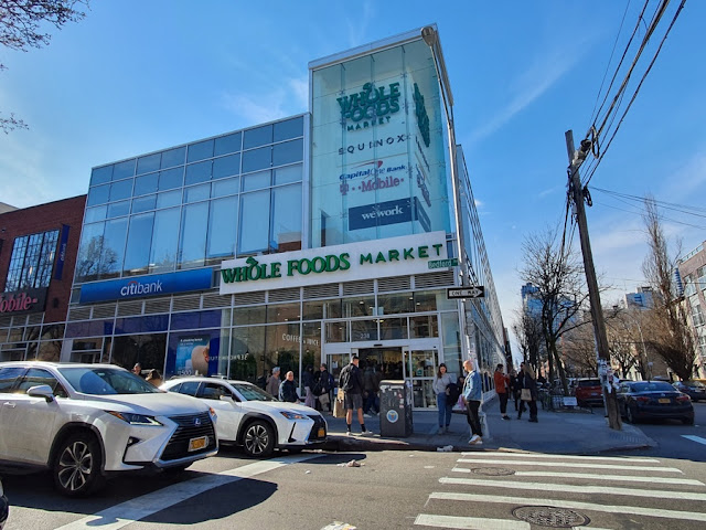 Whole Foods Market em Williamsburg no Brooklyn