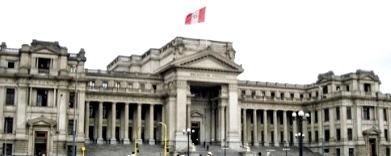 Foto del Palacio de Justicia del Perú (Poder Judicial) a color