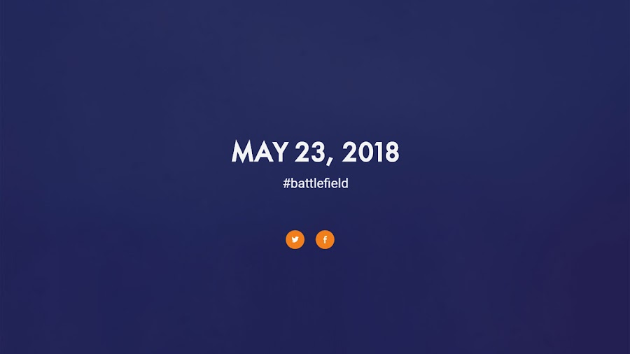 battlefield v reveal date leak