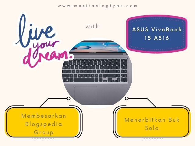live my dream with asus a516