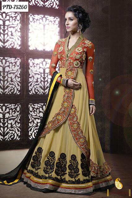 Buy online Shradhha Kapoor Anarkali Salwar Kameez For EID