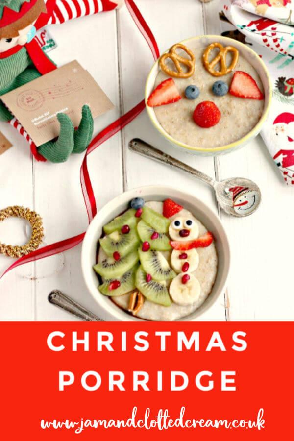 Slow Cooker Christmas Porridge #christmasbreakfast #northpolebreakfast