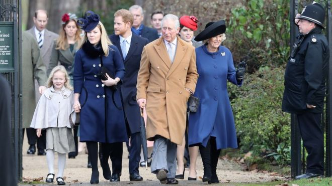 Queen misses Christmas Day church service 'because of cold