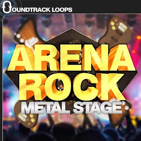 Arena Rock Metal Stage