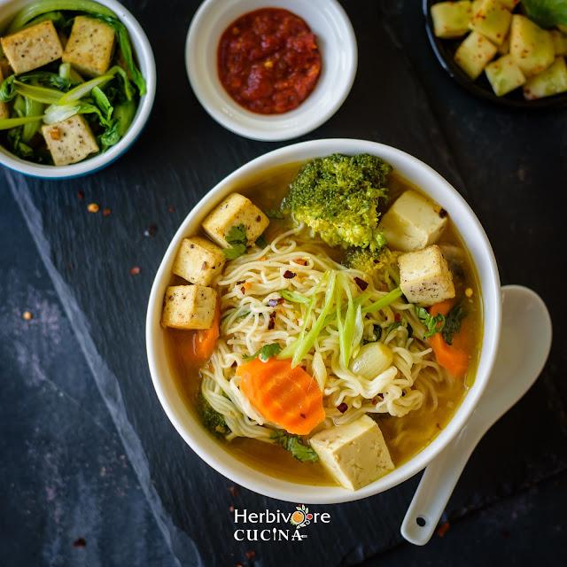 Instant Pot Ramen Soup in a bowl
