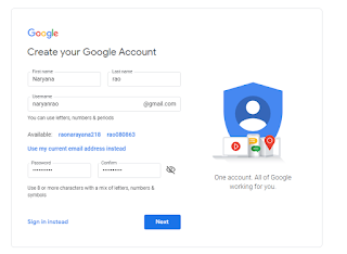 how to create playstore account, how to make playstore account,How to Setup a Gmail Account or Google Account.